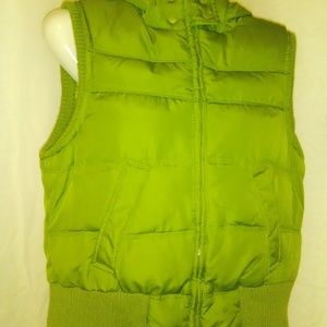NWOT Womans Down Filled Puff Vest